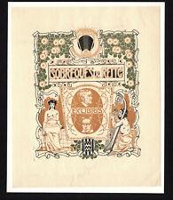 09)Nr.138- EXLIBRIS- Jugendstil / art nouveau, J.Renart, Wagner + Beethoven