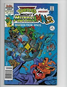 Teenage Mutant Ninja Turtles Present Mighty Mutanimals **Archie Comics 1991**
