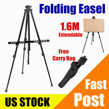 Durable Artist Folding Easel Portable Painter Stand Drawing Display Tripod Us