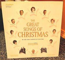 The Great Songs Of Christmas Album Seven Vinyl LP 1966