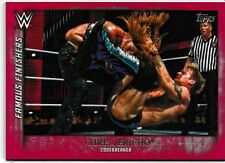 Chris Jericho 2015 Topps WWE Undisputed Famous Finishers Red Card # FF9