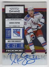 2010/11 CONTENDERS DEREK STEPAN SEASON TICKET RC ROOKIE AUTO AUTOGRAPH CARD