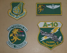 USAF patches set 25th Fighter Squadron