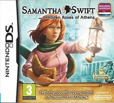 SAMANTHA SWIFT AND THE HIDDEN ROSES OF ATHENA - Nintendo DS - with box & manual