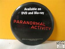 Paranormal Activity home video promotional button
