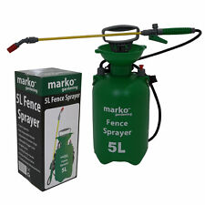 5L LITRE PRESSURE SPRAYER FENCE PAINT GARDEN SHED PATIO WOOD MANUAL KNAPSACK