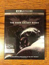The Dark Knight Rises 4K Ultra HD UHD Blu-Ray Slipcover BATMAN Bale NEW SEALED