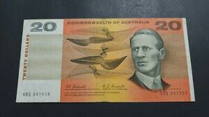 1967 10 Dollar Note Coombs Randall 1st Prefix