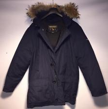 Woolrich Artic Parka Coat Duck Down Jacket Coyote Fur Medium