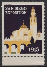 USA 1915 Poster stamp - San Diego Exposition 1915, MNH - dw51x