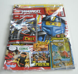 LEGO Ninjago - Magazin Nr. 53 mit Cole und Limitierte Karte