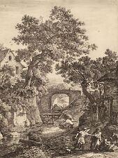 ANTHONIE WATERLOO DUTCH LANDSCAPE CIRCUMCISION MOSES SON ARTWORK PRINT BB4870A