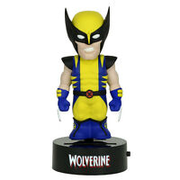 Marvel Body Knocker Wolverine Figure NEW Toys Bobble Head NECA Solar Powered