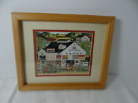 Charles Wysocki Framed Print Peppercricket Antiques Horse Buggy