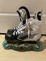 MISSION INHALER FZ-5 SENIOR INLINE HOCKEY SKATES 7E