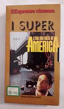 Cs2 > Movie VHS Once Upon a Time in America directed by Sergio Leone