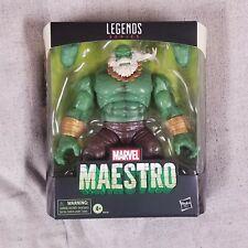 Hasbro Marvel Legends Deluxe Series NIP New - 2021 Hulk MAESTRO Read
