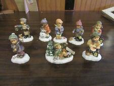 8 Rare 2001 Goeble Berta Hummel Child Figurines