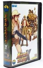 Metal Slug X Register Card Original Neo Geo SNK AES Japon Mint