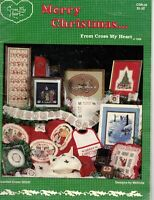 Merry Christmas 23 Counted Cross Stitch Patterns By Cross My Heart