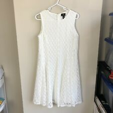 Taylor For A Pea In The Pod Women's Size S Maternity White Lace Maternity Dress