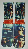 Custom Ferris Bueller dry Fit socks 80s movies cinema
