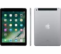 Apple iPad 5th Gen 9.7 inch 32GB WiFi 4G Cellular iOS Tablet Space Grey Pristine