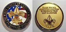 """Boy Scouts of America Beautiful 2013 FOS """"Thank You"""" Coin"""