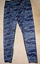 Nwot Layers Qwick Dry Camo Camofluage Leggings Pants Yoga Exercise Athletic Med