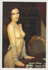 Postcard Pinup Risque Nude Girl Stunning Beauty Extremely Rare Post Card 7891