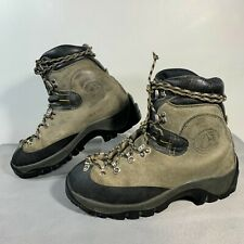 LA SPORTIVA 35.5 / 5 Hiking Mountaineering Boots Suede Walking on the Moon