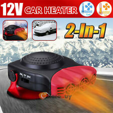 12V Car Truck Auto Portable Heater Quick Heating Cooling Fan Defroster Demister