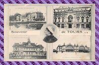 CPA 37 - Souvenir de Tours