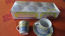 COFFEE SET Porcelaine fine (service à café 6 tasses et 6 soucoupes)