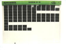 Honda NX250 1988 1989 1990 Parts List Catalog Microfiche a818