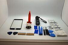 iPhone 7 Nero Kit di Riparazione Schermo Frontale, Filo, Colla, Torcia, Utensili