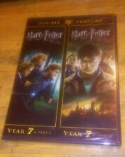 Harry Potter and the Deathly Hallows Parts 1 & 2 (DVD, Widescreen, 2012) Rare