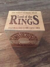 Lord Of The Rings On Nine Compact Discs-Wooden Box Set (Cd)
