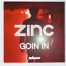 (GS421) Zinc, Goin In - 2012 DJ CD