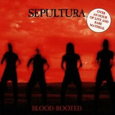 SEPULTURA 'BLOOD-ROOTED' CD NEUWARE RARE+LIVE TRACKS!