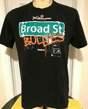 Reebok Philadelphia Flyers Broad St Bullies Men's T-shirt Large Black