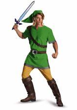 Adult Link Costume Deluxe Legend of Zelda - Plus Size XXL 50-52 2XL -