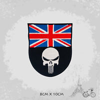 UK Punisher Movie Patch Iron On Patch Sew On Embroidered Patch