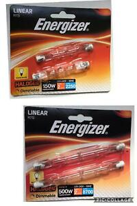 Energizer 500w&150w,security/floodlight/garden light replacement bulb dimmable