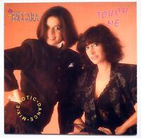 "New Baccara - Touch Me - Rare 12"" Vinyl Maxi Single - Erotic Dance Mix Bellaphon"