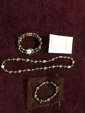 Beautiful Real Pearl Watch /necklace Set