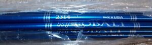 Easton Archery X-7 Cobalt Arrow Shafts 2314 Blue 1dz