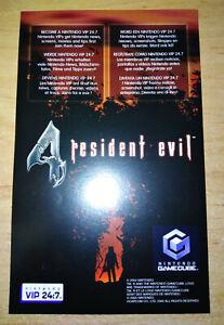 RESIDENT EVIL 4 VIP POINTS (PAL) - NINTENDO GAMECUBE *BEST OFFER* *TRACKED*