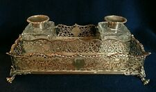 Sterling Silver Antique Inkwell Set