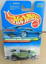 1998 T HUNT TREASURE TURBO FLAME RAT ROD # 5 HW HOT WHEELS